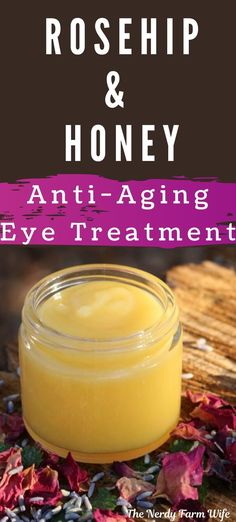 This Rosehip & Honey Anti-Aging Eye Treatment will keep your skin soft, clean, and silky! It is usually perfect for dabbing around your eyes, but can also be used since a full face, neck of the guitar, and hand cream! #antiagingcreamvitaminc #antiagingcreamreviews #bestantiagingcream #homemadeantiagingcream #antiagingcreambeauty #antiagingcreamproducts Best Anti Aging, Anti Aging Cream, Anti Aging Skin Care, Natural Skin Care, Natural Beauty, Best Skin Care Regimen, Moisturizer For Oily Skin, Facial Cleanser, Natural Vitamin E