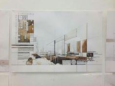 Drawing Architecture Plan Interior Design 48 Ideas For 2019 Architecture Portfolio, Architecture Plan, Drawing Architecture, Interior Architecture, Interior Design Sketches, Interior Rendering, Sketch Design, Plan Sketch, Interior Design Presentation
