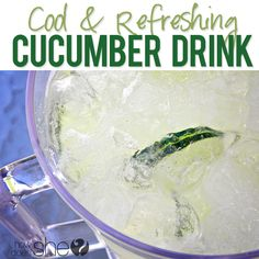 Refreshing Cucumber Drink | How Does She... Not a vegetable drink