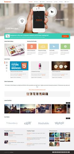 http://blog.karachicorner.com/2013/11/modern-responsive-wordpress-themes/
