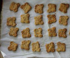 cheesy oat crackers (via yummytoddlerfood.com)