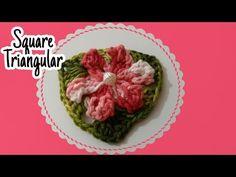 Flor Catavento com 6 pétalas (SQUARE TRIANGULAR) - YouTube