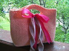 Gift bag tote: free pattern