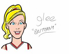 """The """"Glee"""" Cast Gets Their Archie Makeover - Brittany"""