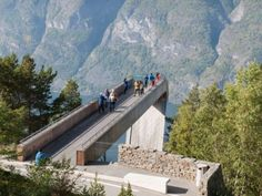 Aurland Lookout, Norway. Saunders Architecture.