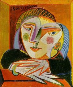 Pablo Picasso - Woman in the window