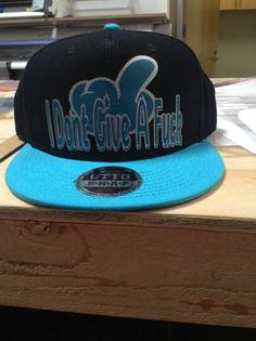 Custom heat pressed snap back   http://customplanet.com/Snap-Back-Flat-Bill-Hat-125-1038.aspx