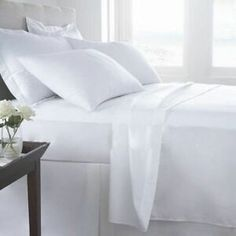 Shop for Adrien Lewis-Premium Bamboo Comfort Microfiber Solid Bed Sheet Set. Get free delivery On EVERYTHING* Overstock - Your Online Bedding Basics Store! Get in rewards with Club O! Satin Sheets, Flat Sheets, Bed Sheets, Twin Xl Sheet Sets, Cotton Sheet Sets, Cotton Bedding, Linen Bedding, Bed Linens, Comforter