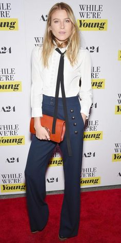 "Look of the Day - March 24, 2015 - ""While We're Young"" New York Premiere - Arrivals from #InStyle"