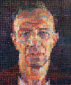The Mysterious Metamorphosis of Chuck Close Chuck Close Paintings, Chuck Close Art, Yale School Of Art, Portraits, Portrait Paintings, Create Photo, Types Of Art, Type Art, Abstract Portrait