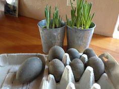 Fru Pedersens have: Rustikke betonæg, sådan gør jeg.