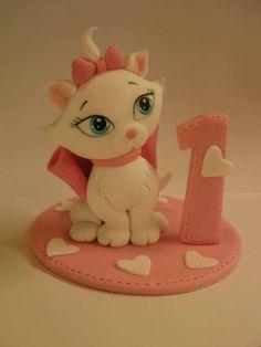 "marie the cat from Studio ""Fondant Design Ana"" - Figurice za torte"
