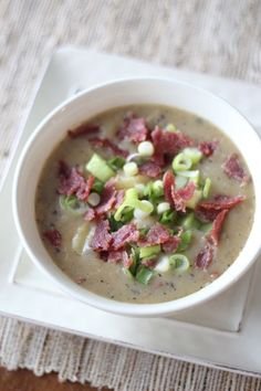Loaded Potato Soup: Favorite Whole30 Recipe