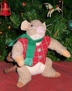 Stuffed mouse by JoLynn Self