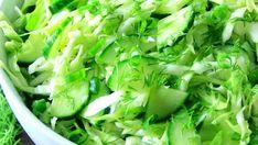 Salata cu care slăbești sănătos şi rapid 3-4 kilograme Lettuce, Celery, Cabbage, Vegetables, Food, Salads, Essen, Cabbages, Vegetable Recipes