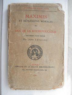 La Rochefoucauld, ancêtre du twitto avec ses maximes pourraves #MEGAOLD