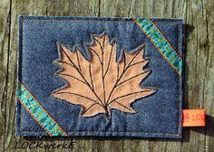 LOCKwerkE: STOFFKARTE Ahornblatt Bags, Card Crafts, Handbags, Bag, Totes, Hand Bags