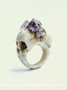 Reminds me of the goonies. I bet it would really suck to get punched in the face with this ring too.