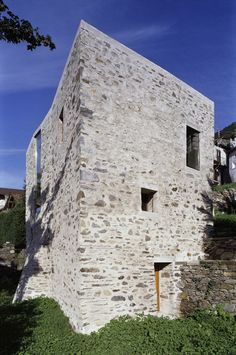Gallery of House in Scaiano / Wespi de Meuron Romeo architects - 6