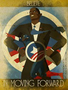 Believe - President Obama by KerrithJohnson.deviantart.com on @deviantART