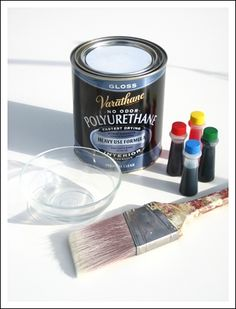 THIS IS THE ONE I WANT TO TRY!! Tools for coloring mason jars