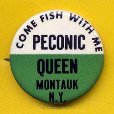 PECONIC QUEEN Fishing Pin, Montauk, NY – 1964 Lobster Fishing, The Hamptons, Queen, History, Travel, Historia, Viajes, Destinations, Traveling