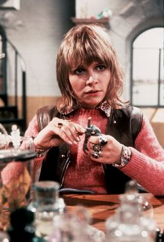 Katy Manning as Doctor Who assistant Jo Grant 1970