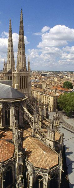 The Cathedral of Saint Andrew of Bordeaux, France