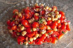 cherry and chick salad
