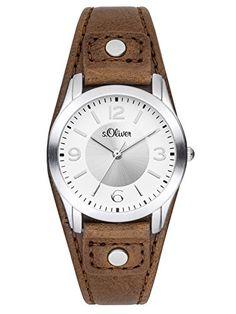Sale Preis: s.Oliver Damen-Armbanduhr XS Analog Quarz Leder SO-2946-LQ. Gutscheine & Coole Geschenke für Frauen, Männer und Freunde. Kaufen bei http://coolegeschenkideen.de/s-oliver-damen-armbanduhr-xs-analog-quarz-leder-so-2946-lq