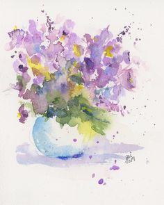 Watercolor Sketchbook, Watercolor Cards, Watercolour Painting, Watercolor Flowers, Watercolours, Watercolor Techniques, Watercolor Landscape, Doodle Art, Art Tutorials