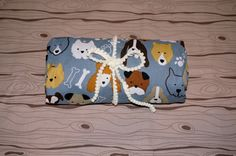 Dog Gone Cute fitted crib/toddler sheet by SunKissedPoppy on Etsy, $56.00