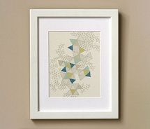 love triangles art print picture on VisualizeUs