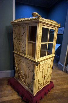 Sedan chair, Assembly Rooms Bath.