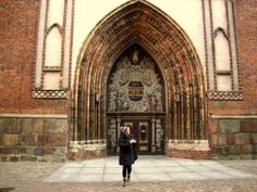 Kyrkan ligger vid Alte Markt