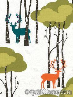 Rustique DC6408-MULT Fabric by Emily Herrick