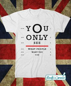 Whatever You only see what people want you to see #MadFerIt #Oasis #Gallagher #FanArt #FanTshirt #tshirt #LiveForever