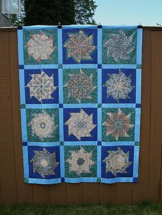 Bird Stack and Whack Quilt top finished 2012 - now to quilt :)) by Happy 2 Sew, via Flickr