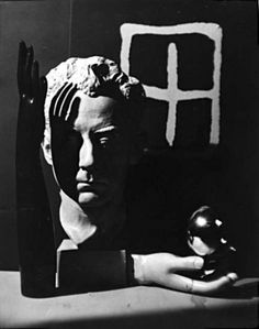 Composition, arrangement of figures, shadows. Man Ray Self portrait [Still life with rayograph and surrealist objects], 1932 Vintage gelatin silver print Harlem Renaissance, Man Ray Photographie, Still Life Photography, Art Photography, Hans Richter, Gelatin Silver Print, Surreal Art, Camilla, Black And White Photography