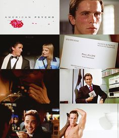"""""""And though I can hide my cold gaze, and you can shake my hand and feel flesh gripping yours and maybe you can even sense our lifestyles are probably comparable... I simply am not there."""" - Patrick Bateman"""