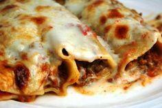 Cannelloni al ragù: step finale
