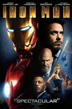 Iron Man Suit up for action with Robert Downey Jr. in the ultimate movie adventure, IRON MAN! When jet-setting genius-industrialist Tony Stark is captured in Iron Man Dvd, Iron Man 2008, Iron Men 1, Iron Man Movie, Tony Stark, Jeff Bridges, Gwyneth Paltrow, Movies And Series, Movies And Tv Shows