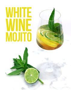 White Wine Mojito