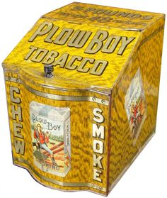 . Store Counter, Counter Display, Tobacco Store, Clay Pipes, Vending Machines, Tin Cans, Vintage Tins, Metal Tins, Wood Glass