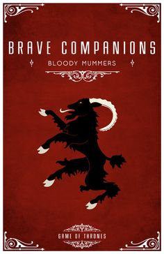 A Song of Ice and Fire - Brave Companions (by LiquidSoulDesign)