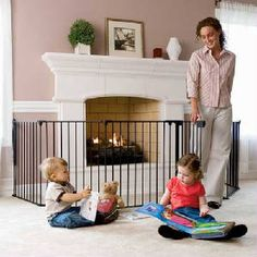 Look! Crib Bumper for Baby-Proofing Hearth | Baby proofing ...