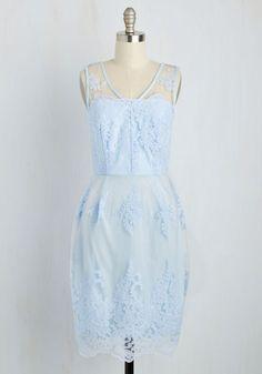 Outstanding on Ceremony Dress in Sky | Mod Retro Vintage Dresses | ModCloth.com