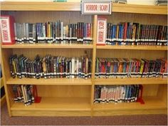 Last January, I attended a workshop at our regional education service center. One of the sessions was about genre-fying your library, presented by a local high school librarian. The librarian told us about how she genre-fied her fiction section and the enormous increase in circulation her library saw as a result. Her enthusiasm and simple step-by-step instructions inspired me to do it myself.