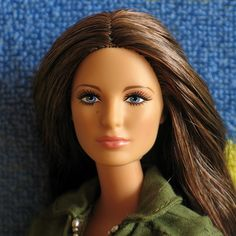 Green Lantern Carol Ferris Barbie  by Surfinie, via Flickr