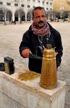 Street Coffee, Palestine فلسطين www.batuta.com